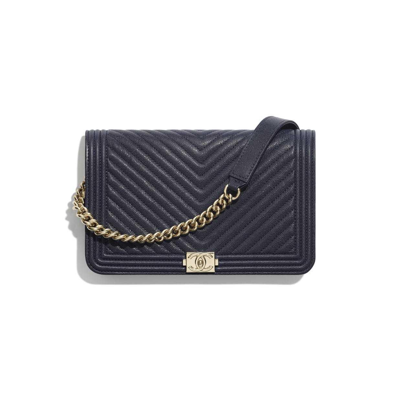 CHANEL CHANEL ☆boy chanel wallet on chain ☆AP1117 B00315 N6517