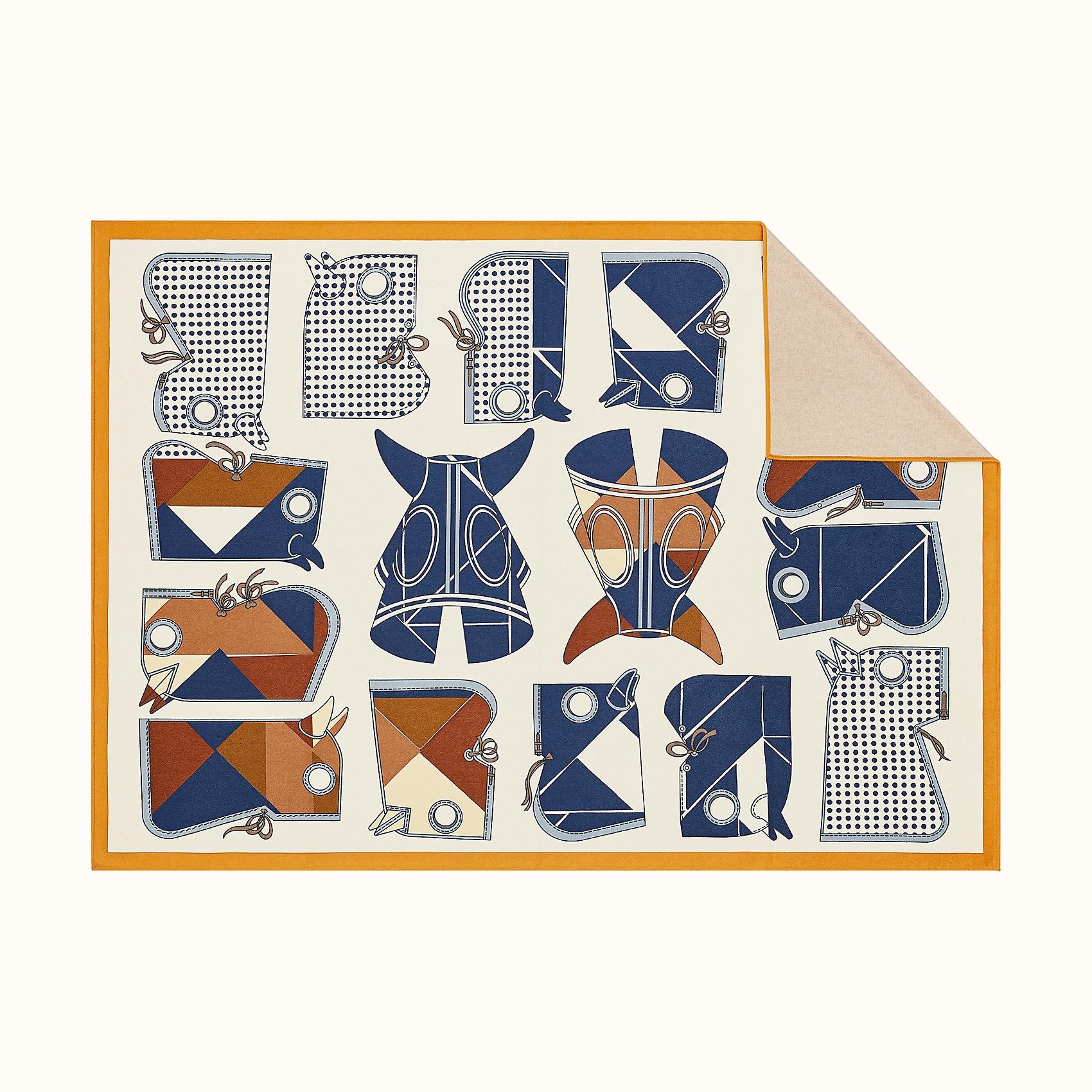 HERMES Camails Tangram Blanket