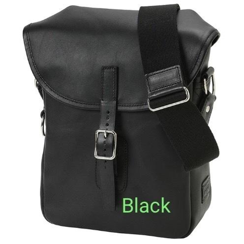 【Japan】【Unisex】LEATHER SHOULDER BAG (S) 2colors
