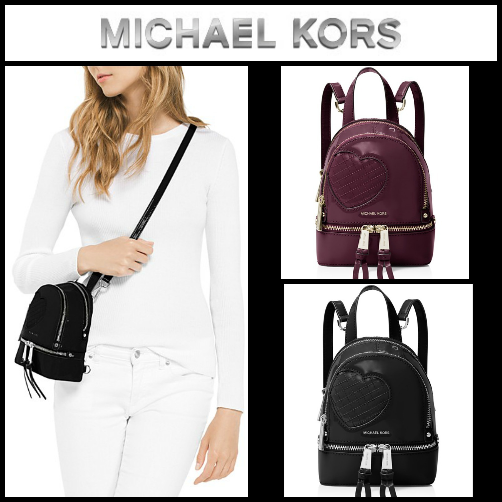 891b03675c62 Michael Kors Extra Small Leather Backpack- Fenix Toulouse Handball