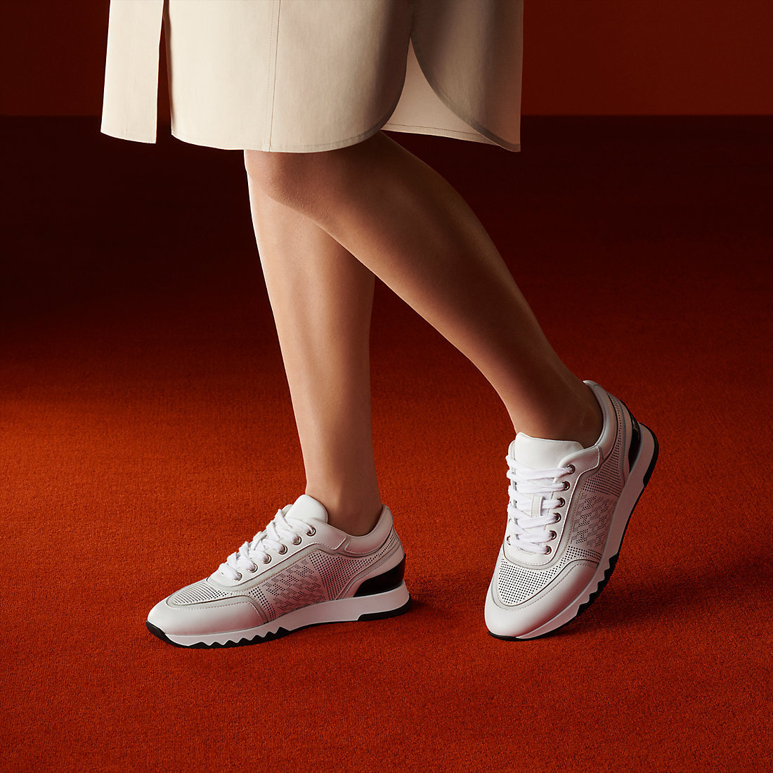 HERMES C-Addict Sneaker
