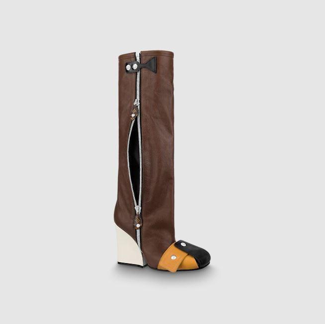 Louis Vuitton PATTI WEDGE HIGH BOOT 9,5CM