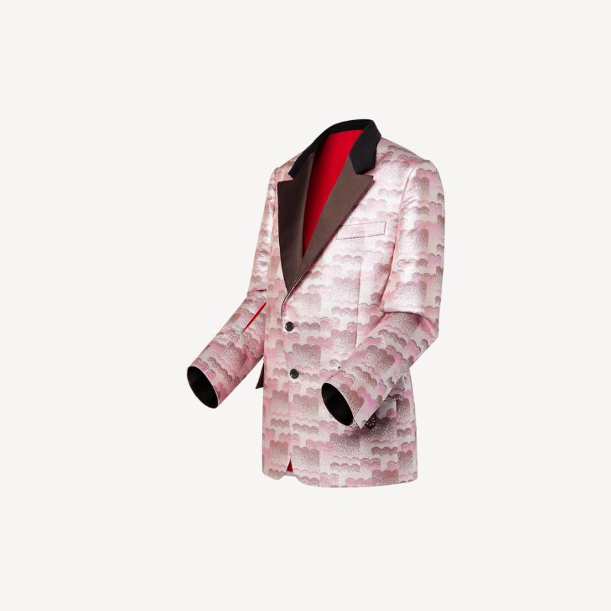 Louis Vuitton Louis Vuitton CLOUD JACQUARD TUXEDO JACKET