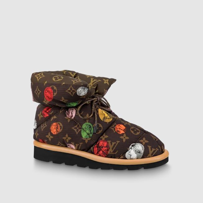 Louis Vuitton Pillow comfort ankle boot