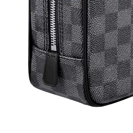 Louis Vuitton DAMIER GRAPHITE Louis Vuitton TROUSSE TOILETTE GM TOILETRIES KIT