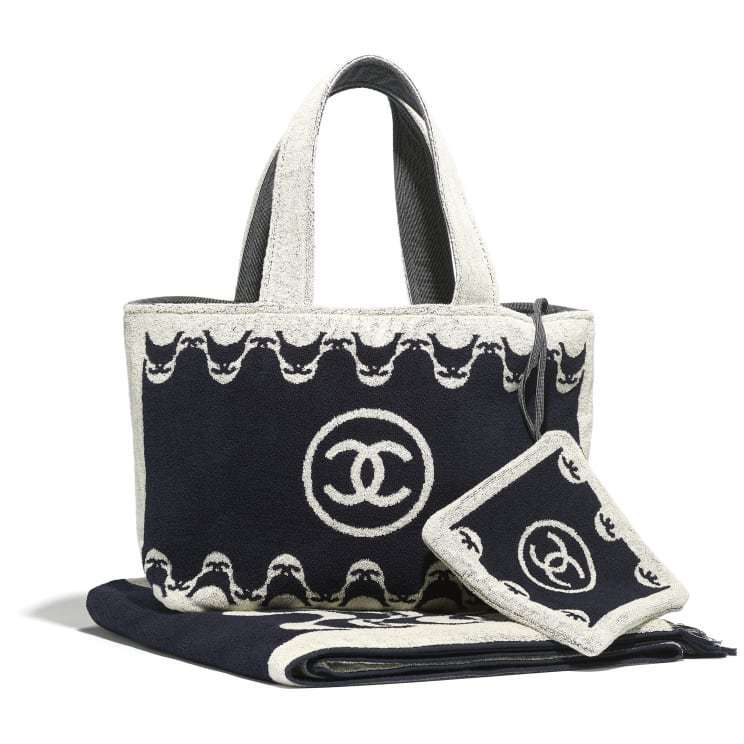 CHANEL CHANEL ☆beachwear set ☆AA7482 B05241 NB766