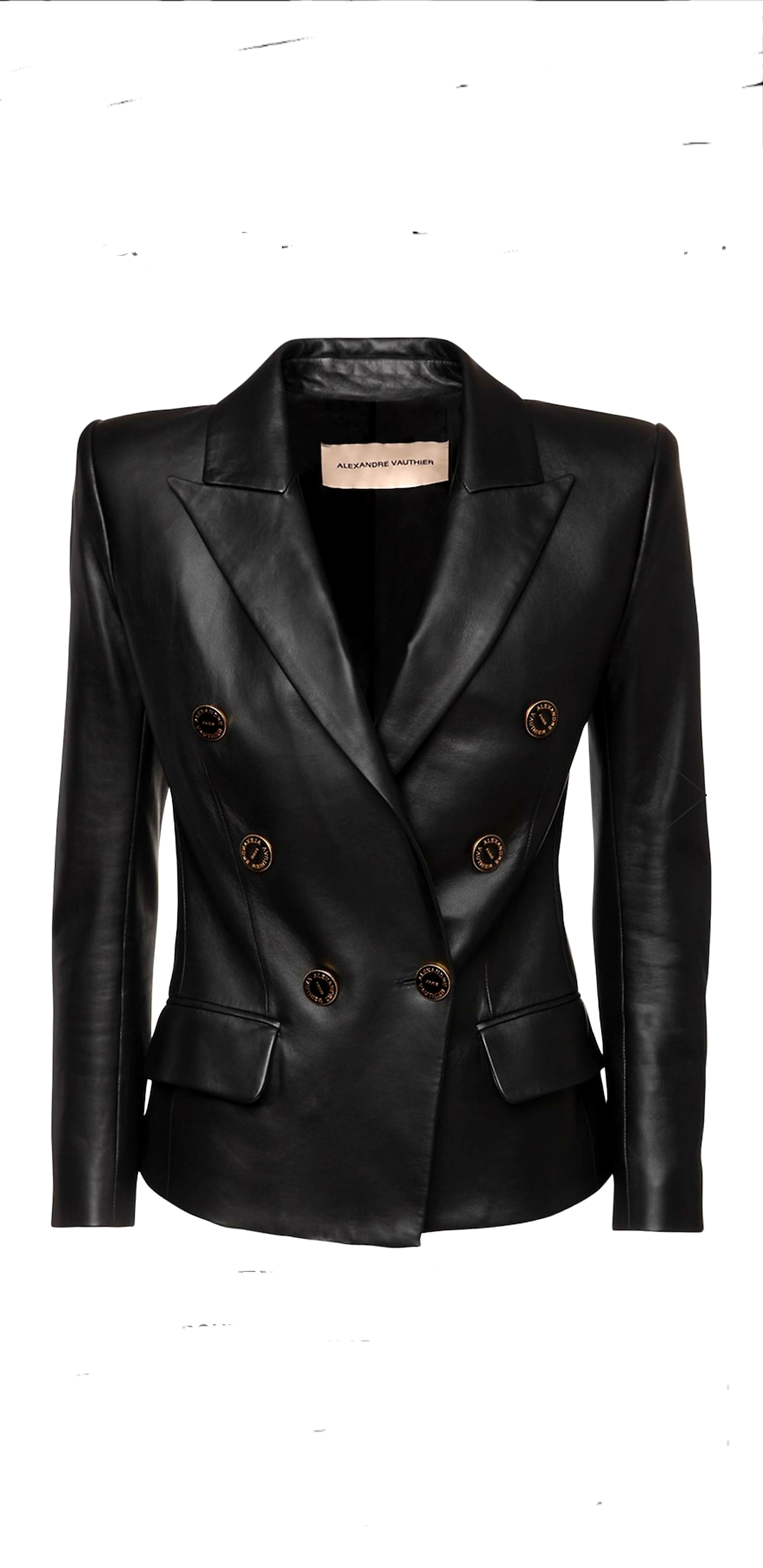 ALEXANDRE VAUTHIER ALEXANDRE VAUTHIER DOUBLE-BREASTED FITTED BLAZER