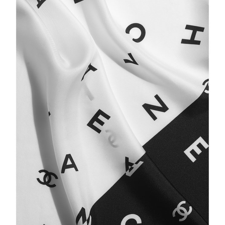 CHANEL CHANEL ☆square scarf ☆AA7449 B05158 94305