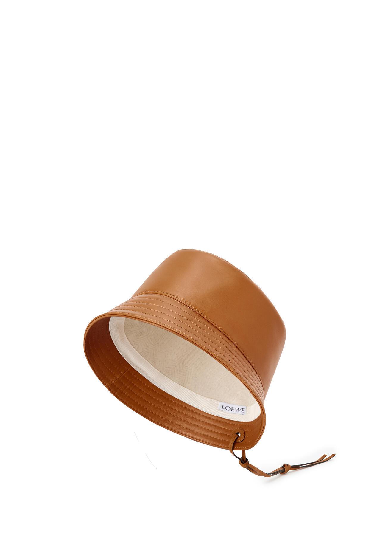 LOEWE LOEWE ☆Bucket hat in nappa clafskin☆K000HB1X01