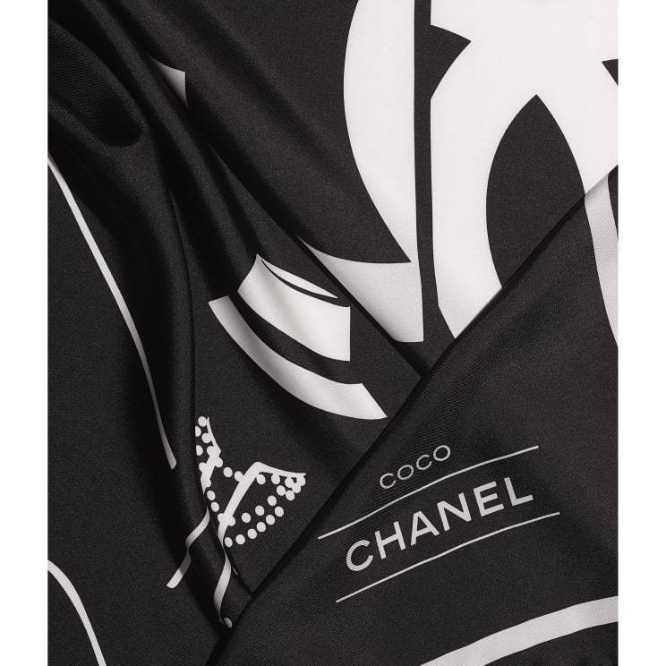 CHANEL CHANEL ☆square scarf ☆ AA7534 B05601 94305