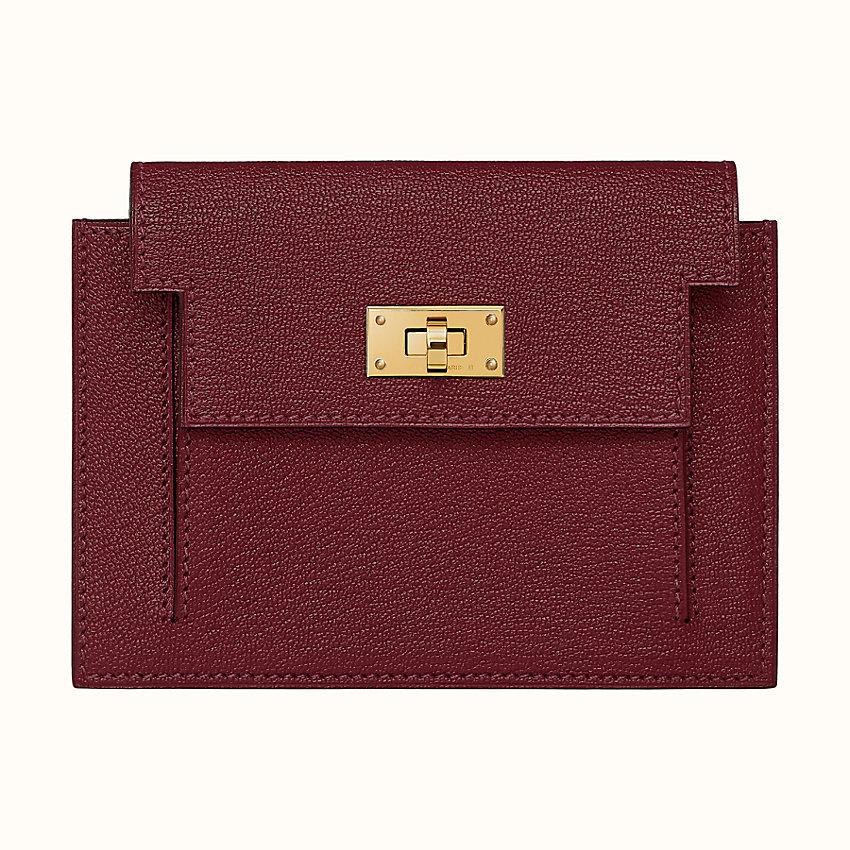 HERMES Kelly pocket compact wallet