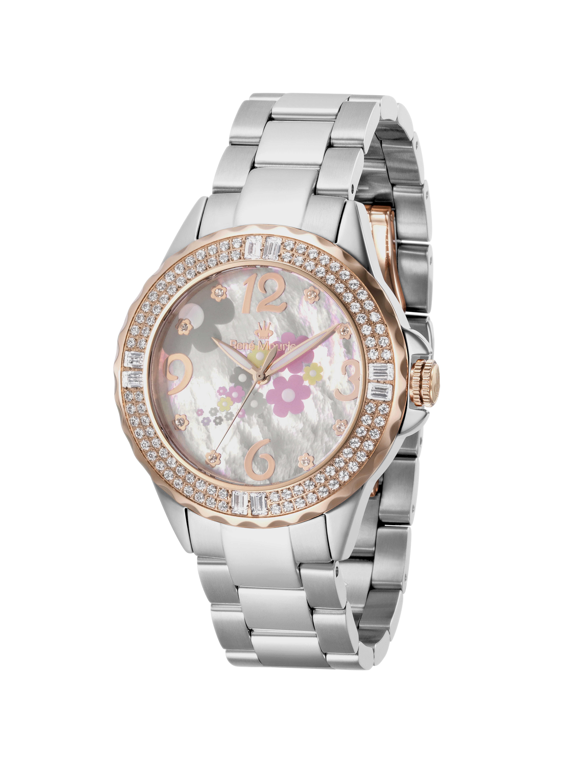 Rene Mouris - Steel - La Fleur - Fashion Watch - 50105RM3