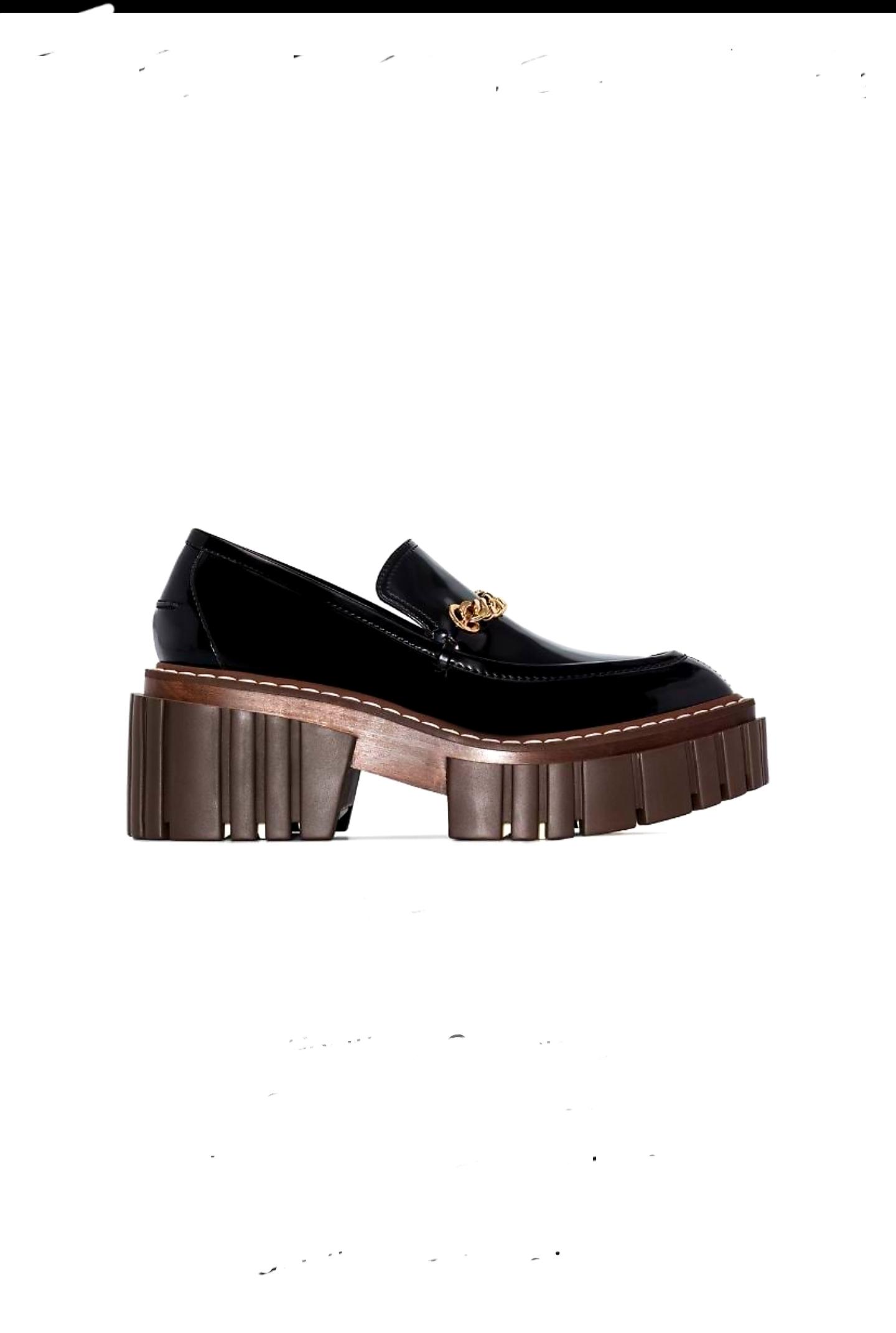 Stella McCartney Stella McCartney Chunky 40mm Slip-on Loafers