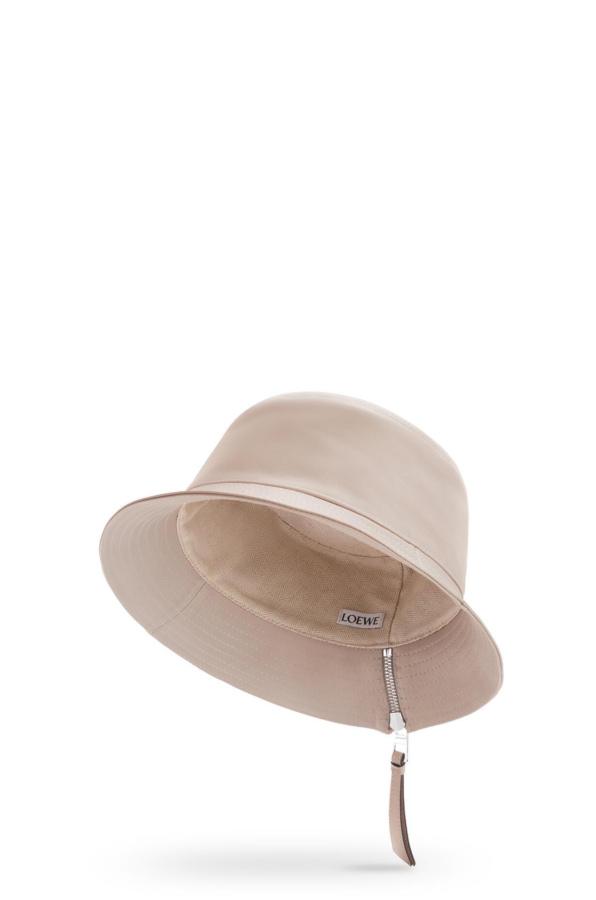 LOEWE LOEWE☆Fisherman hat in nappa calfskin☆112.10.010