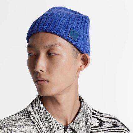 Louis Vuitton Louis Vuitton ☆M76047  ☆LV KNITHEAD HAT