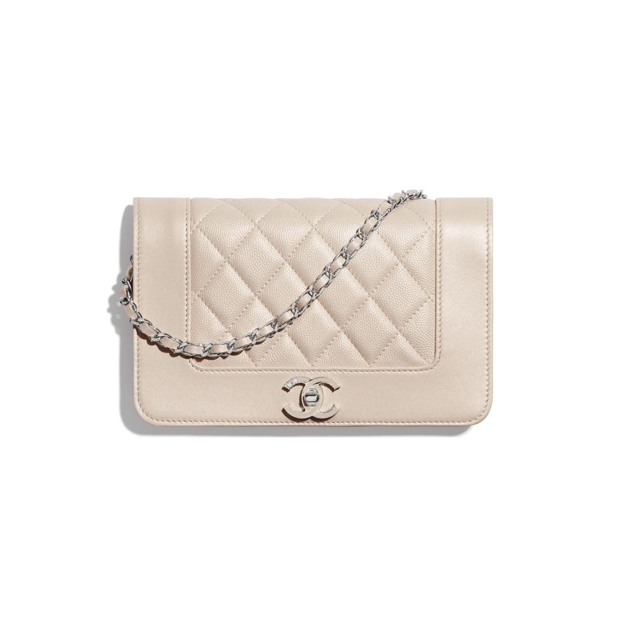 CHANEL CHANEL ☆wallet on chain ☆A80972 B03213 N7374