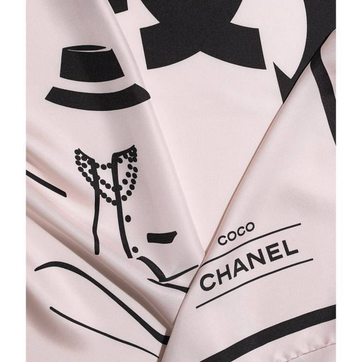 CHANEL CHANEL ☆square scarf ☆ AA7534 B05601 NC280
