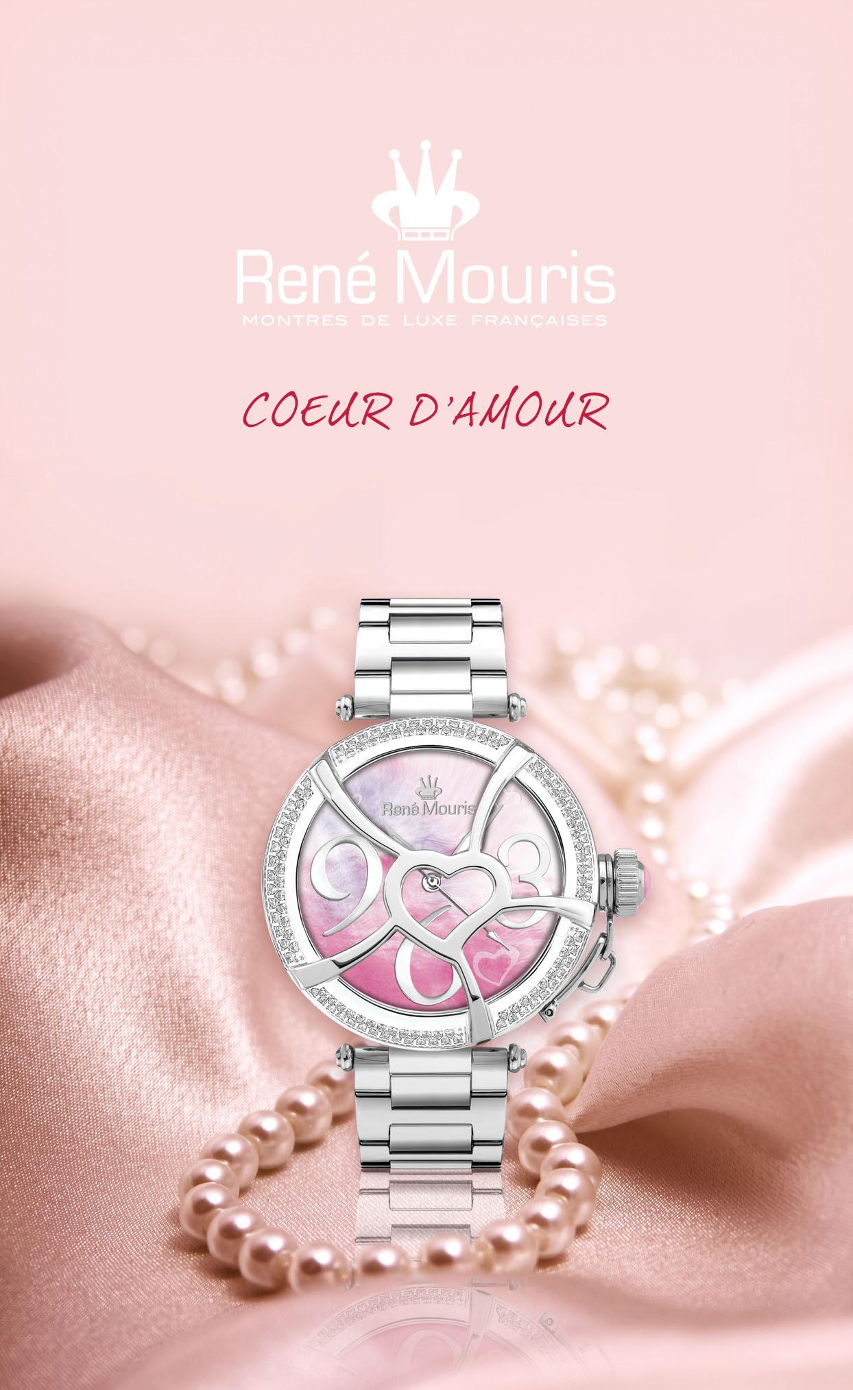 Rene Mouris - Fashion Watch - Coeur d'Amour - 50102RM2