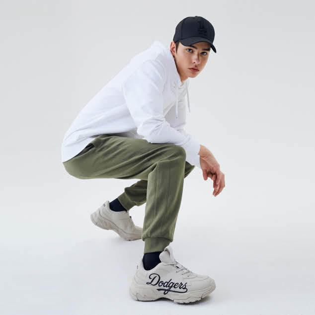 MLB Korea MLB big ball chunky P LA dodgers sneakers