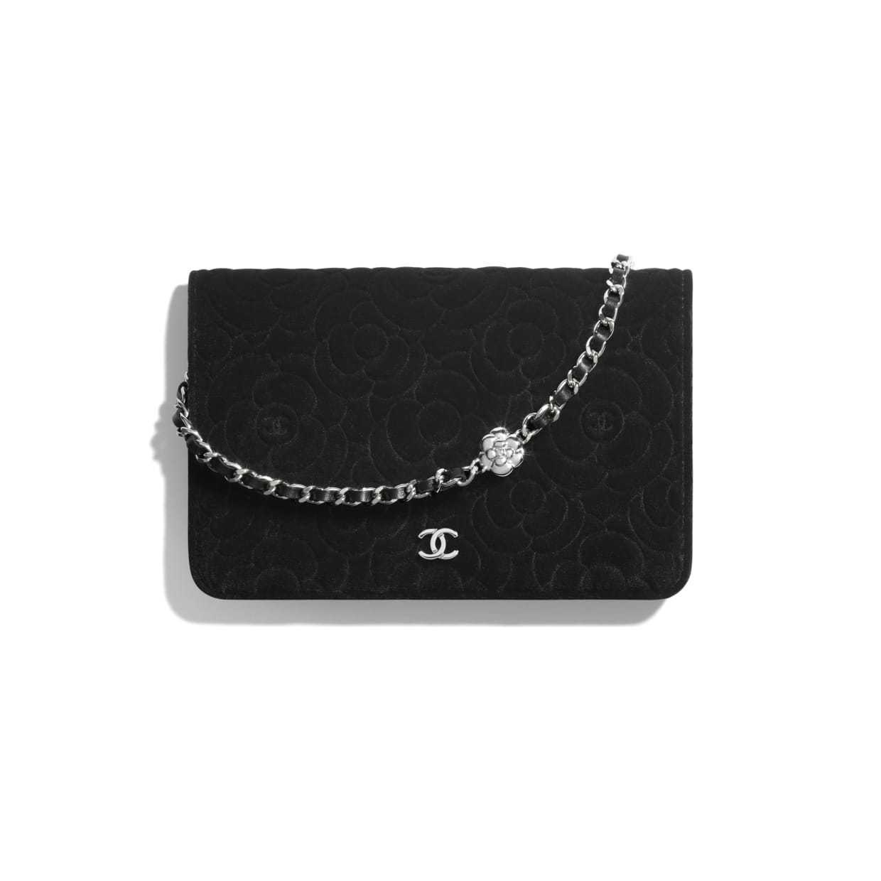 CHANEL CHANEL ☆wallet on chain ☆A82336 B04458 94305