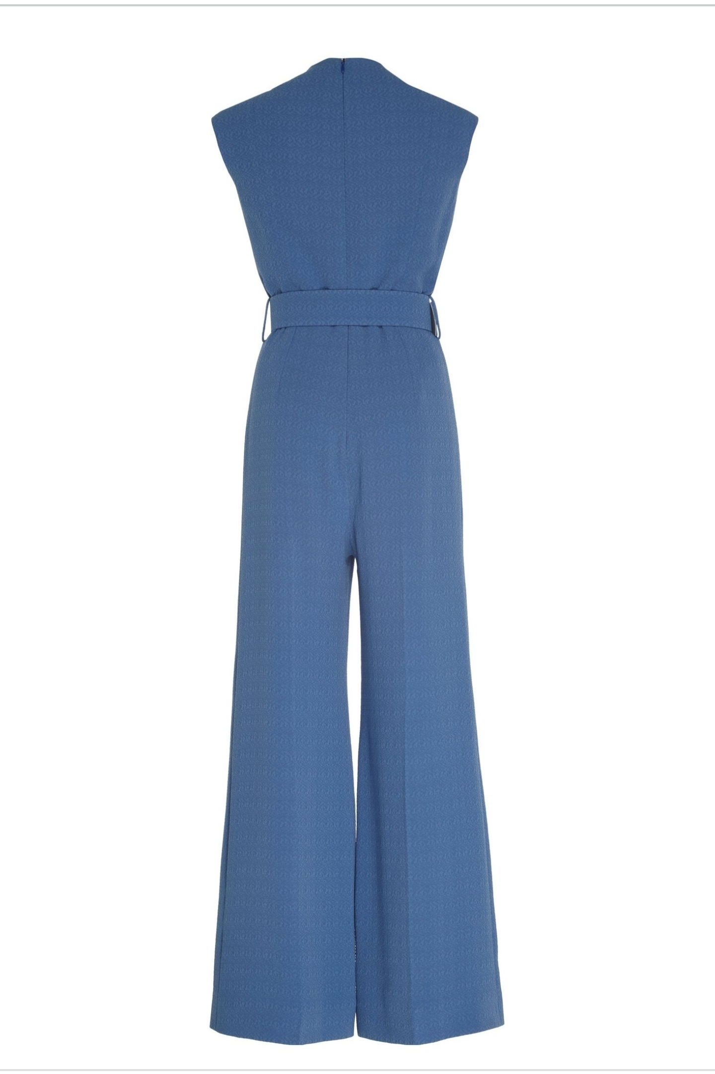 EMILIA WICKSTEAD Emilia Wickstead Wide-leg belted jumpsuit