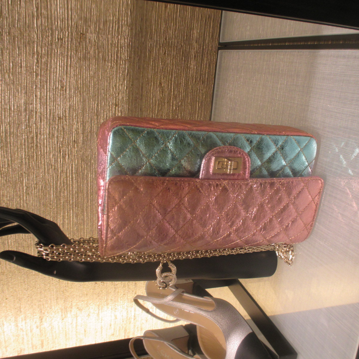 CHANEL ☆2.55 wallet on chain ☆A70328 B03463 99999
