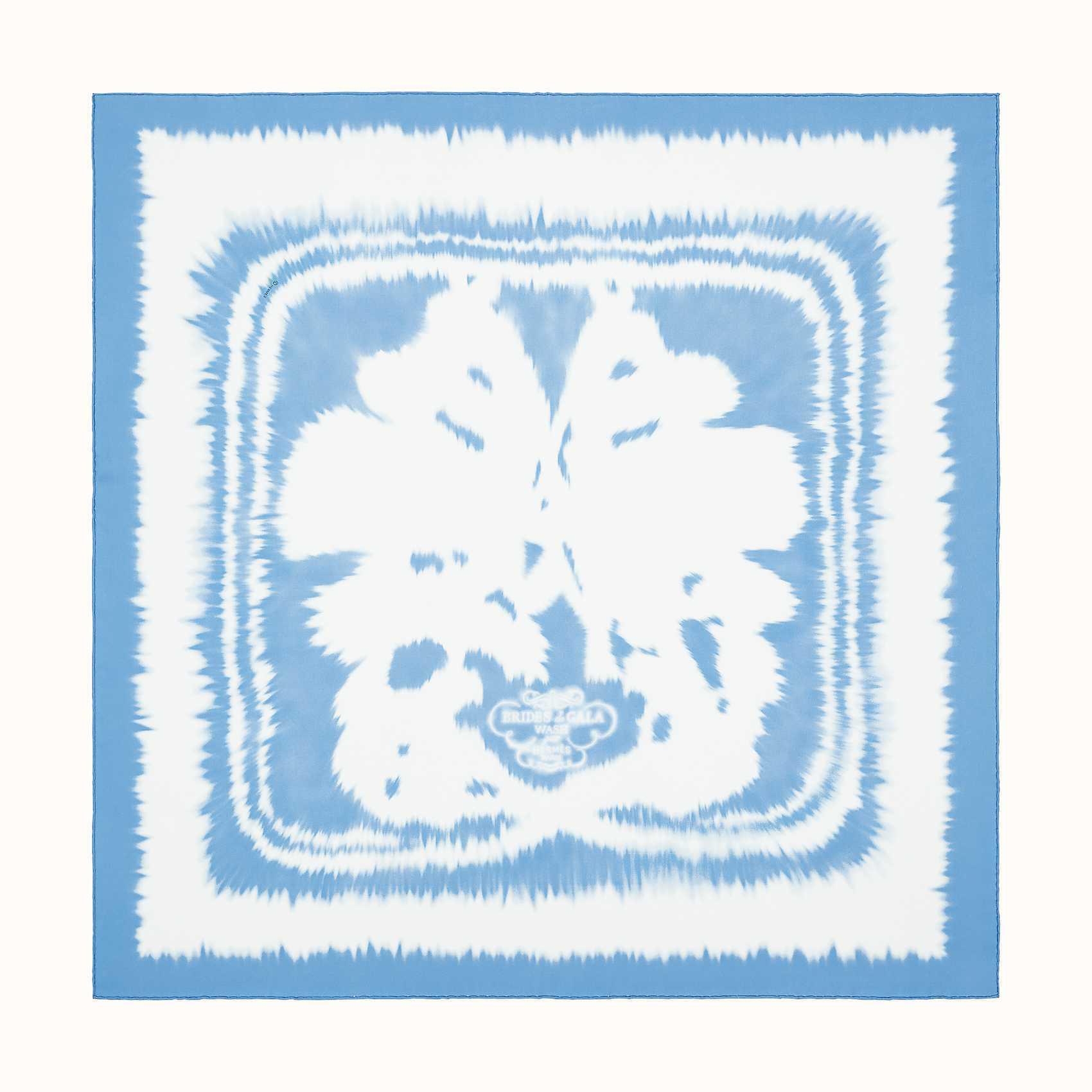 HERMES Brides de Gala wash scarf 90