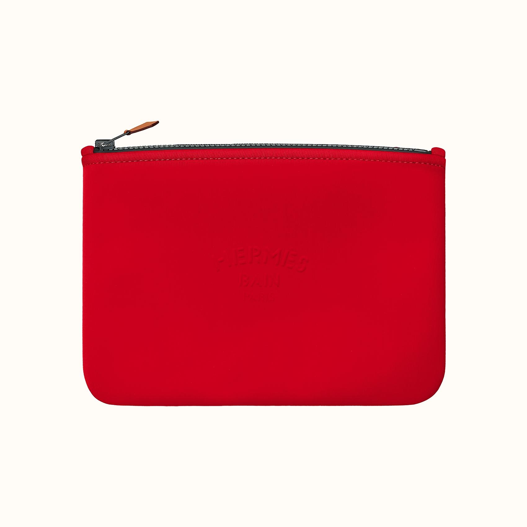 HERMES Neobain case, medium model - Rouge