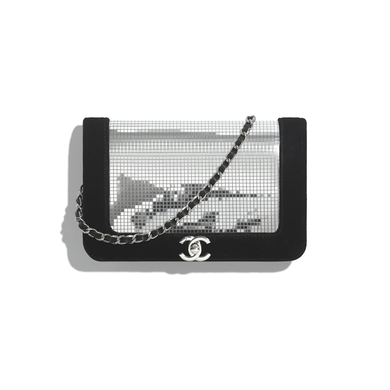 CHANEL CHANEL ☆wallet on chain ☆AP1541 B03267 N4552