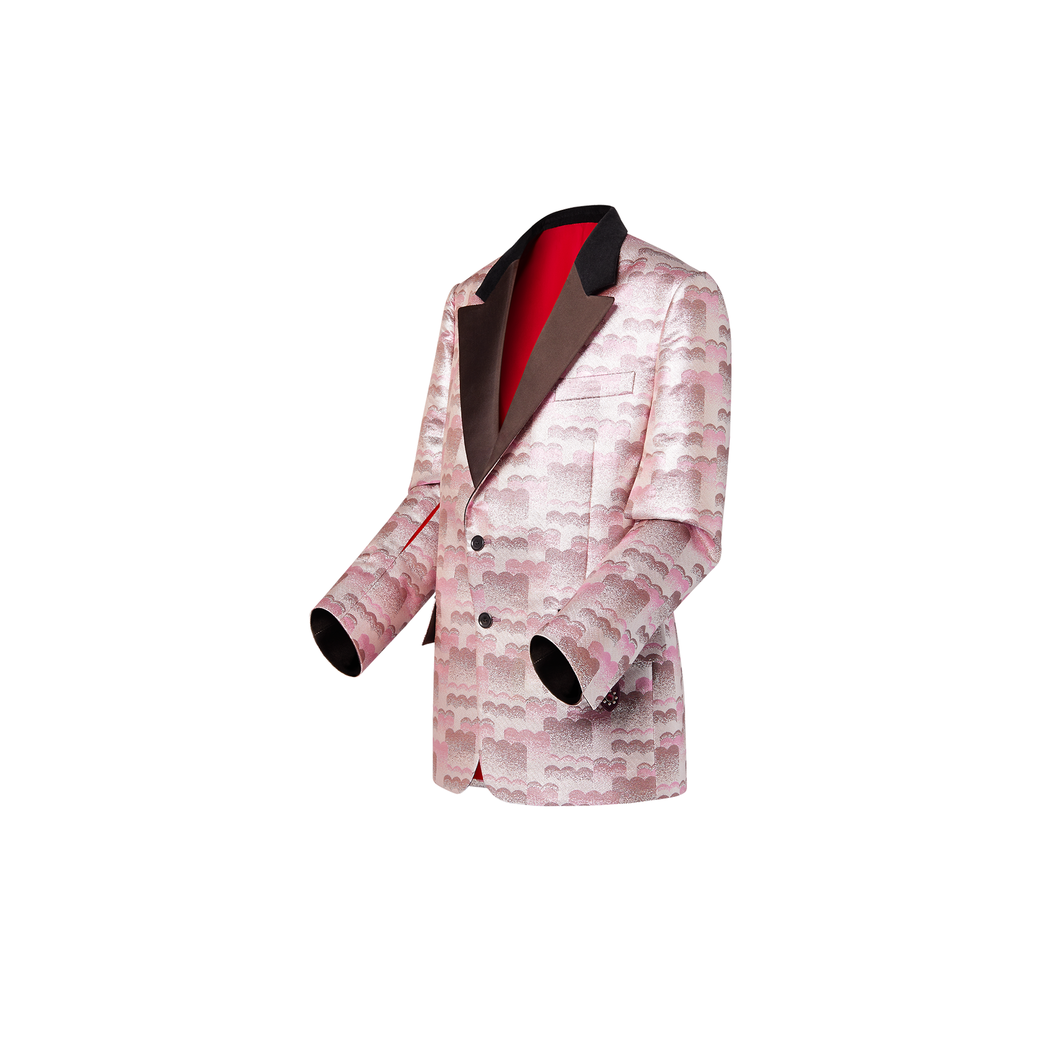 Louis Vuitton Cloud jacquard tuxedo jacket
