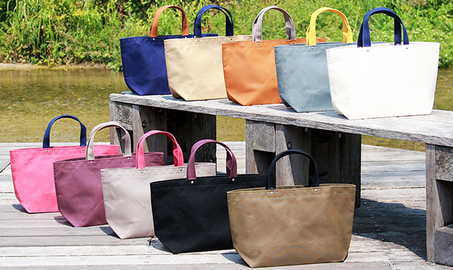 Japanese Traditional Handmade Canvas Tote Bag H-13