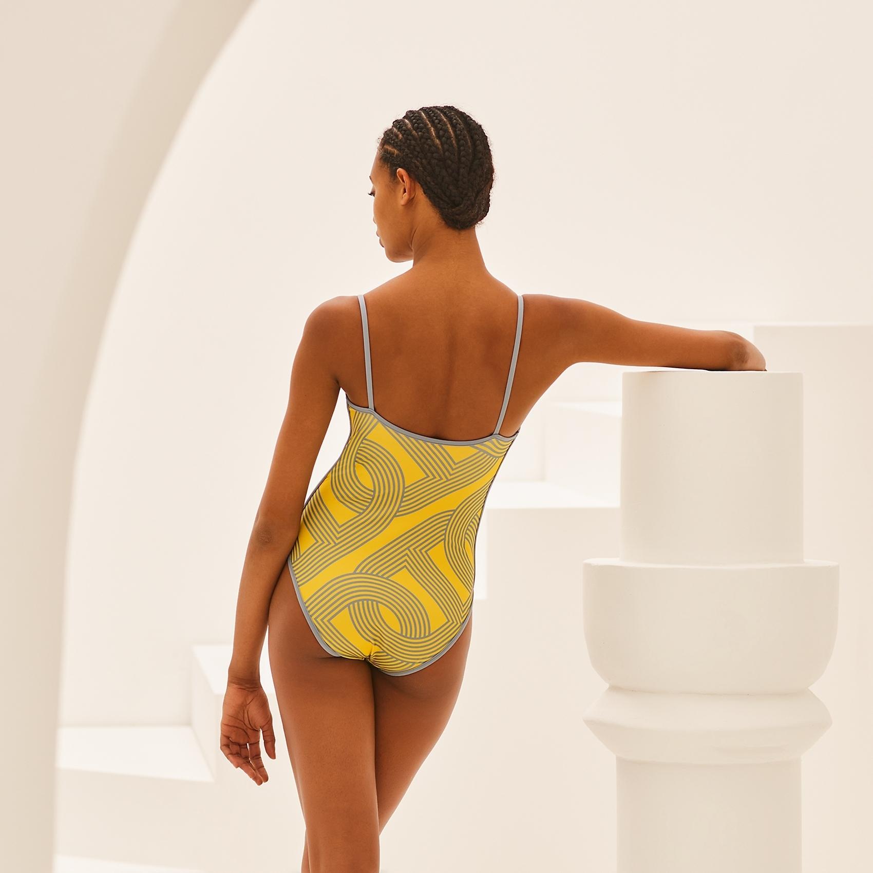HERMES Tiki swimsuit - Jaune Citron