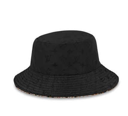 Louis Vuitton Louis Vuitton ☆M76533  ☆LV CRAFTY REVERSIBLE BUCKET HAT