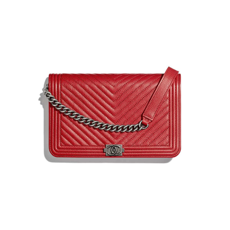 CHANEL CHANEL ☆boy chanel wallet on chain ☆AP1117 B01696 N5332