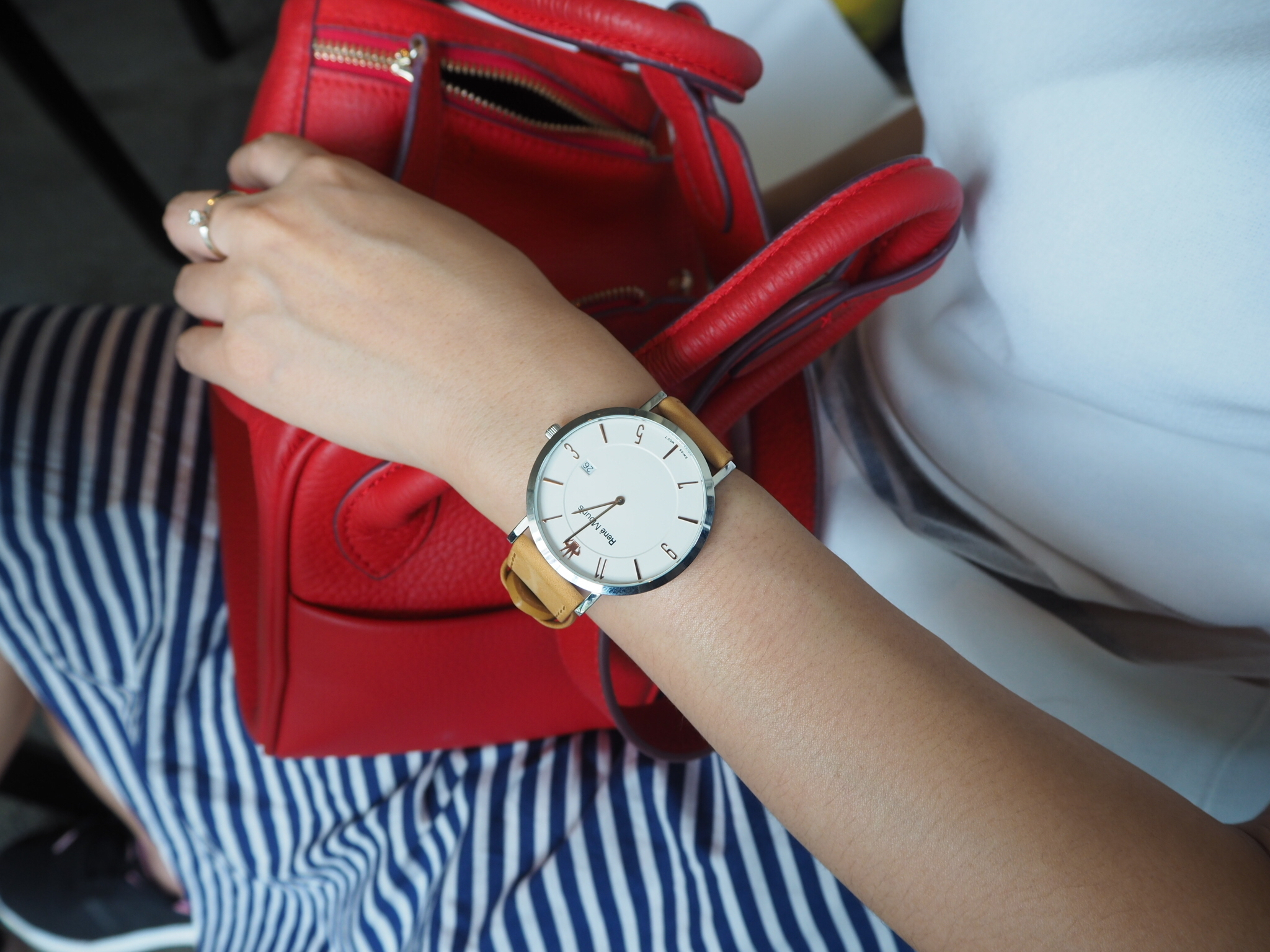 Rene Mouris - L'Emporter Collection Classic Watch - Yellow