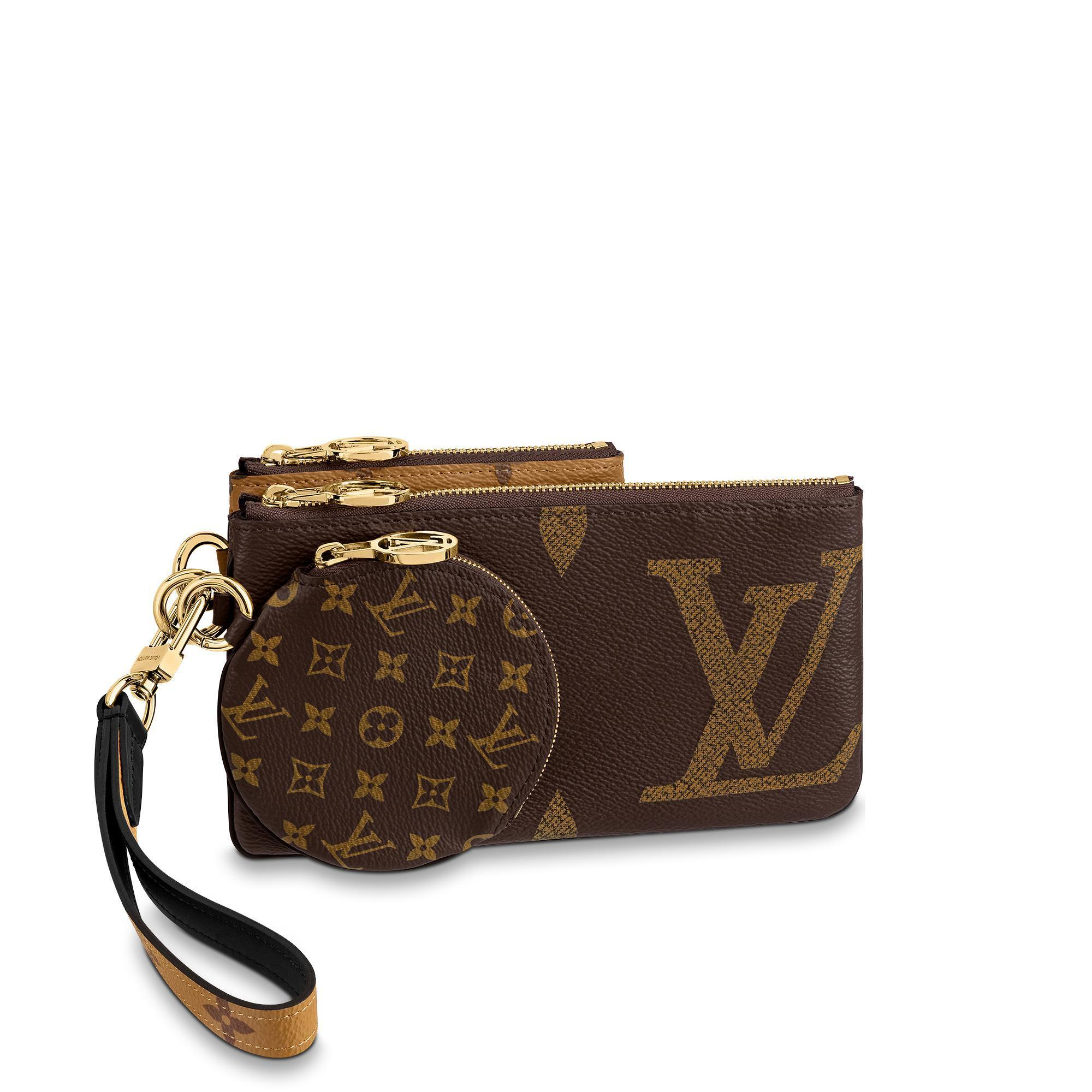 Louis Vuitton Trio Pouch  M68756