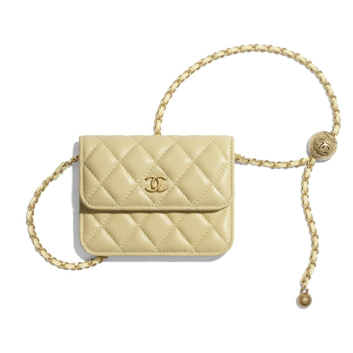 CHANEL CHANEL ☆clutch with chain ☆AP1628 B02916 NA105