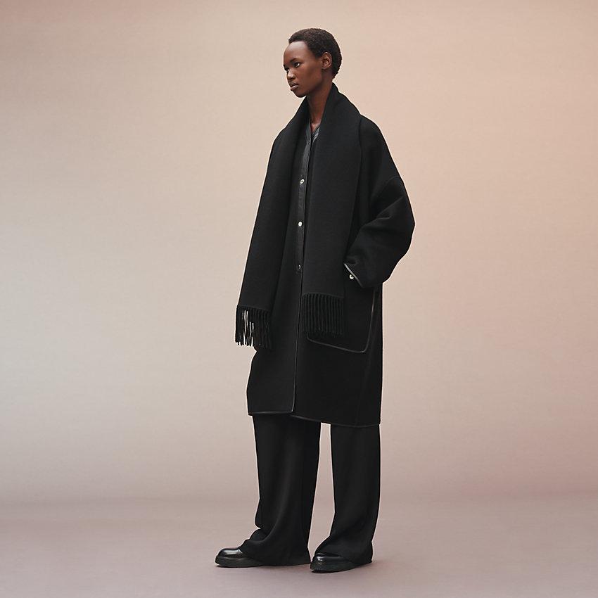 HERMES Esprit couverture coat