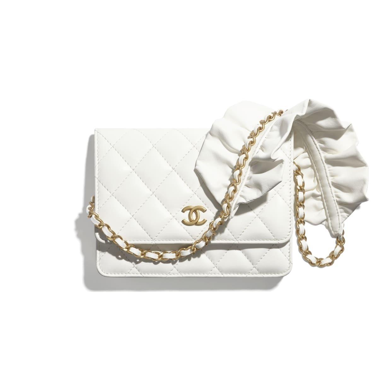 CHANEL CHANEL ☆mini wallet on chain ☆AP1820 B04369 10601