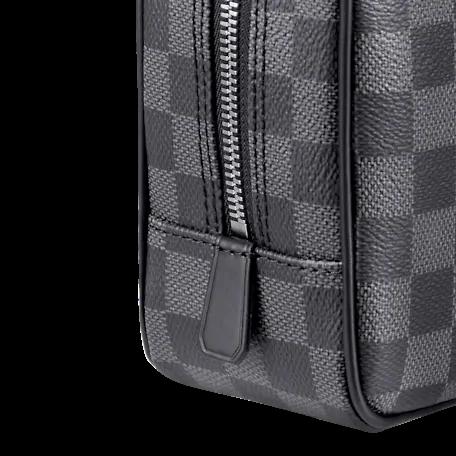 Louis Vuitton DAMIER GRAPHITE Louis Vuitton TOILET POUCH GM