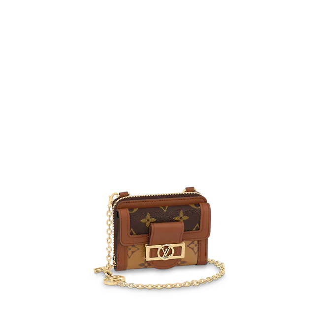 Louis Vuitton MINI DAUPHINE COMPACT WALLET WITH CHAIN