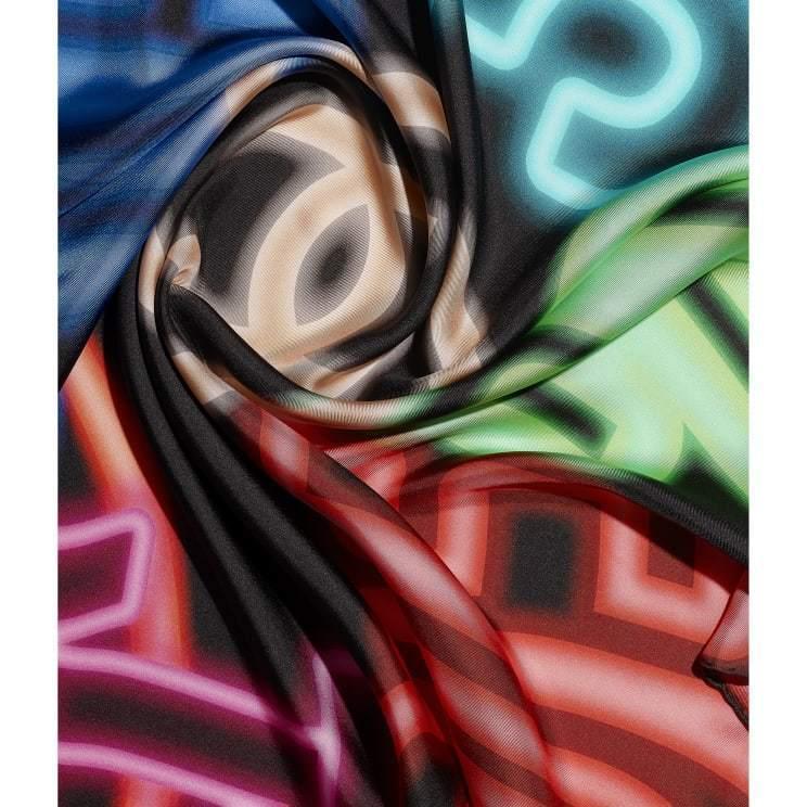 CHANEL CHANEL ☆square scarf ☆AA7524 B05594 NC307
