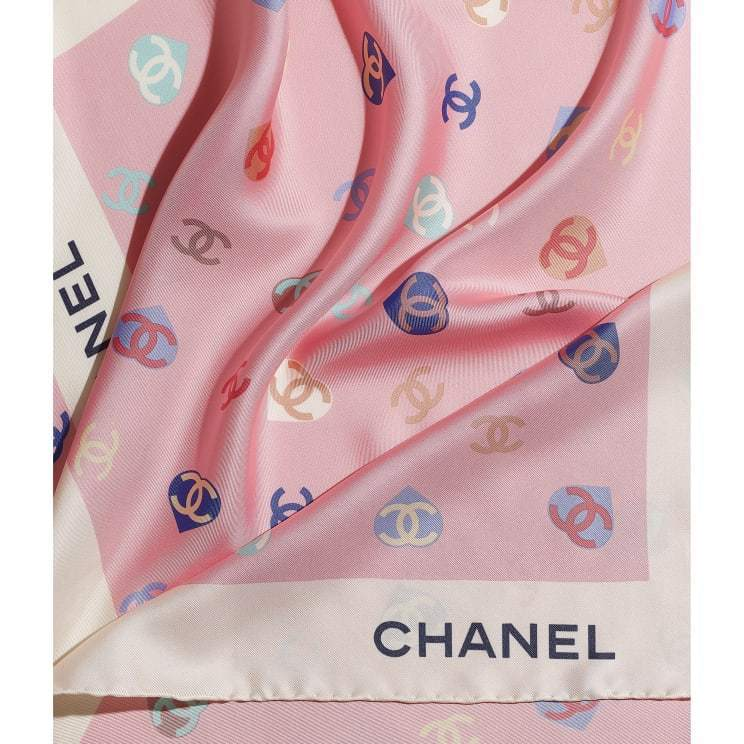 CHANEL ☆square scarf ☆AA7446 B05145 NB732