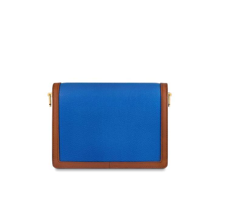 Louis Vuitton DAUPHINE MM(Blue/Beige)