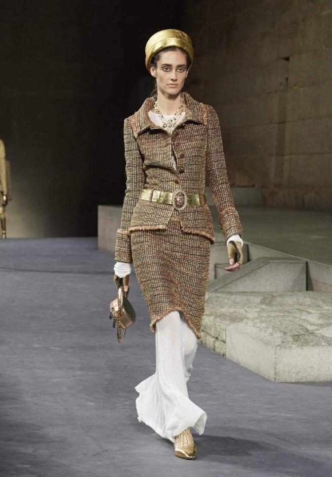 CHANEL Chanel Jacket & Belt, Skirt 3