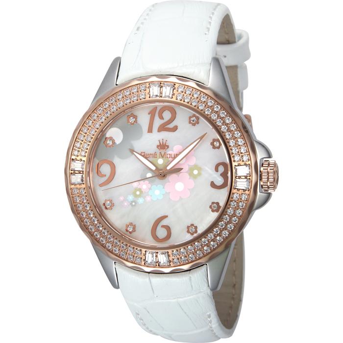 Rene Mouris - Leather - La Fleur - Fashion Watch - 50104RM3