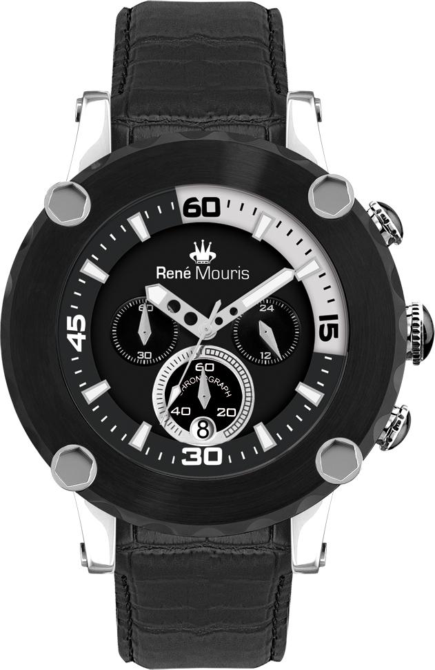 Rene Mouris - Santa Maria - Leather Sporty Watch - 90101RM2