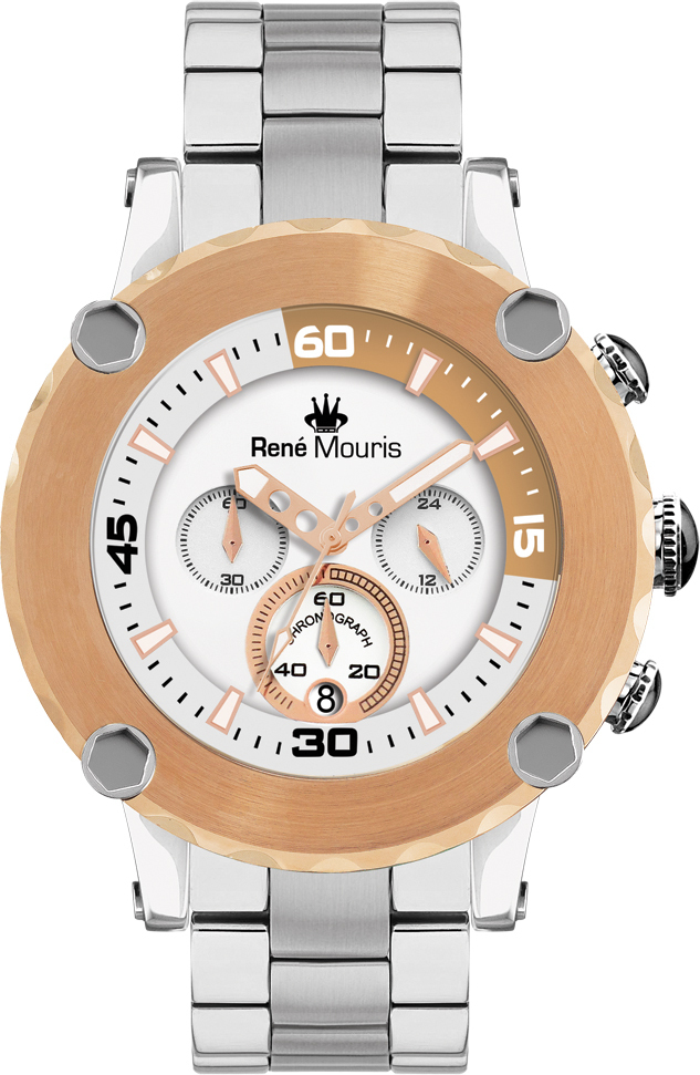 Rene Mouris - Santa Maria - Steel Sporty Watch - 90102RM4