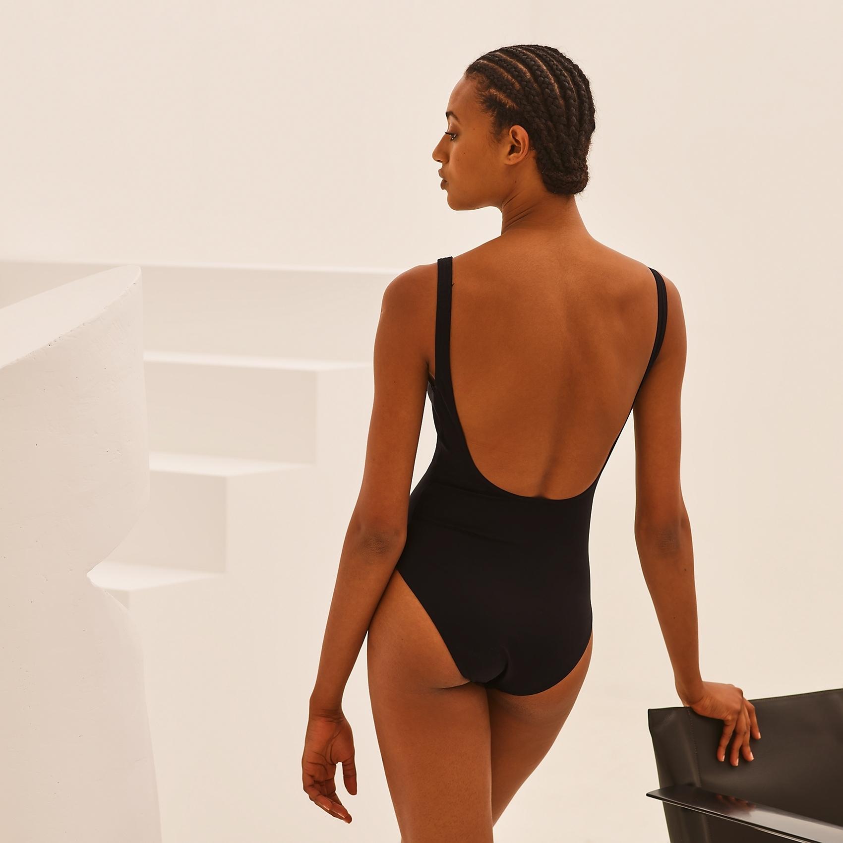 HERMES Tania swimsuit - Noir