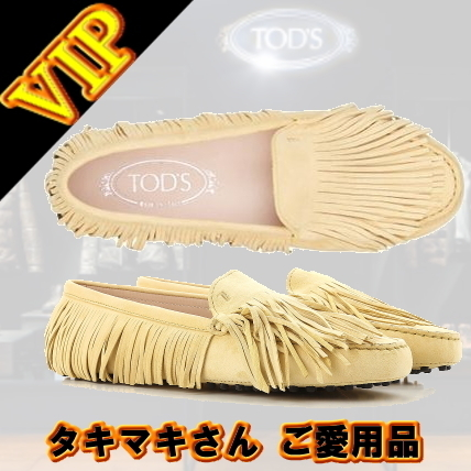 "TOD'S TOD'S ""YORKY GOMMINO"" MOCCASINS"